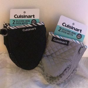 Cuisinart Silicone Mini Oven Mitts- Set of 2